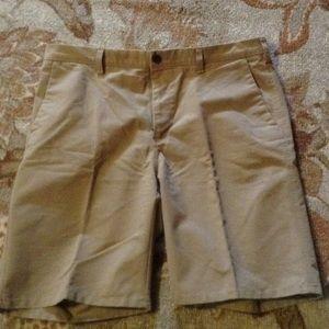 Mens khaki shorts